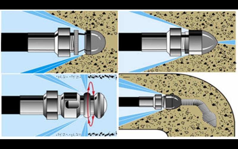 Форсунки для гидродинамики